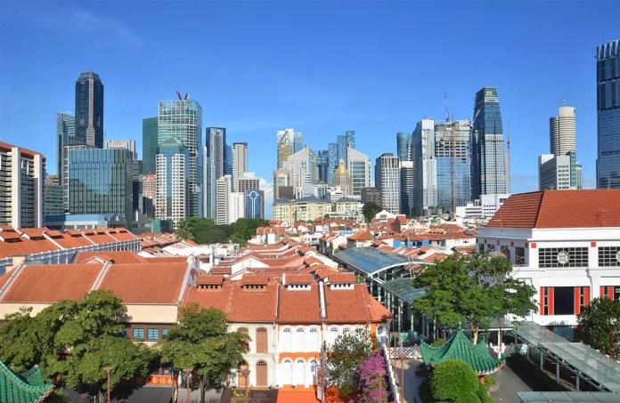 Chinatown Singapore Buildings.