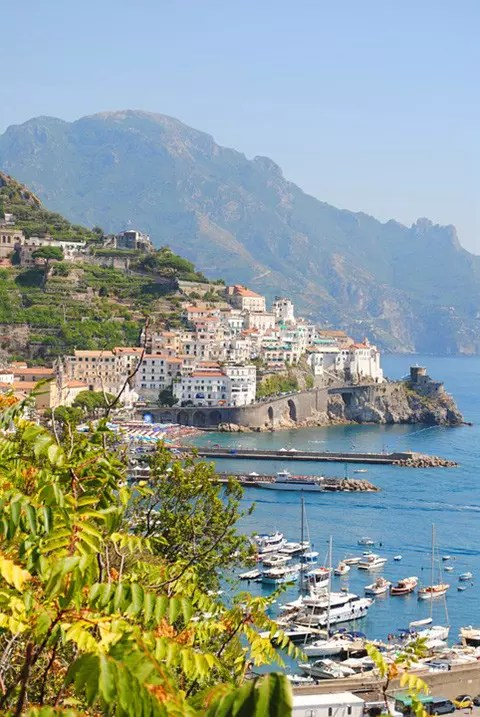 The Amalfi Coast.