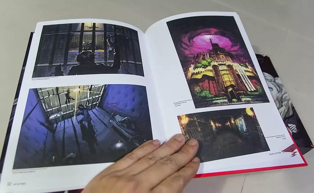 Persona 5 Artbook.