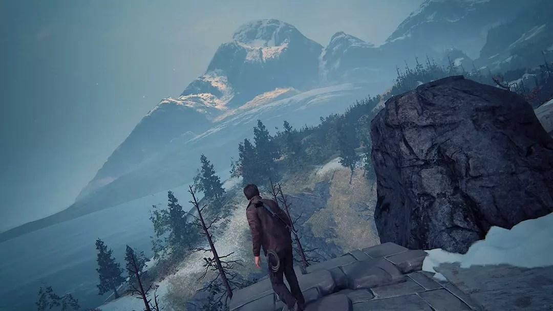 Uncharted 4 Scotland Mountain.