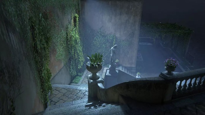 Uncharted 4 Rossi Estate Stage