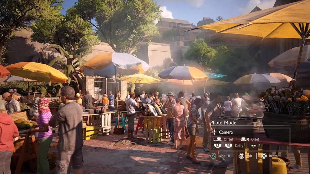 Uncharted 4 Madagascar Market