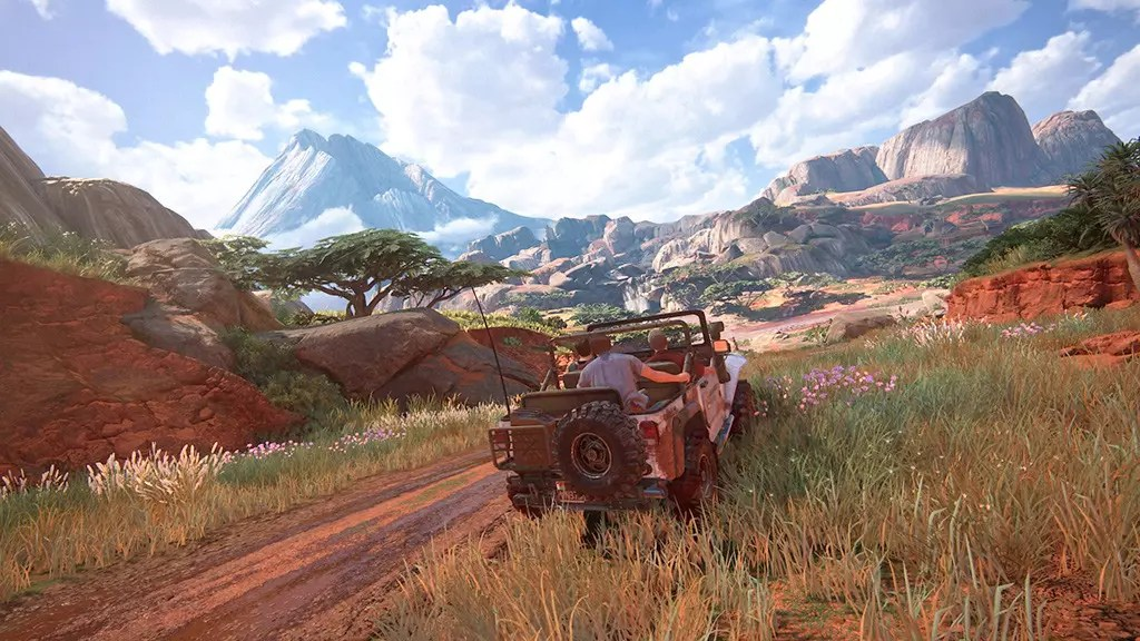Uncharted 4 Open-World Driving.