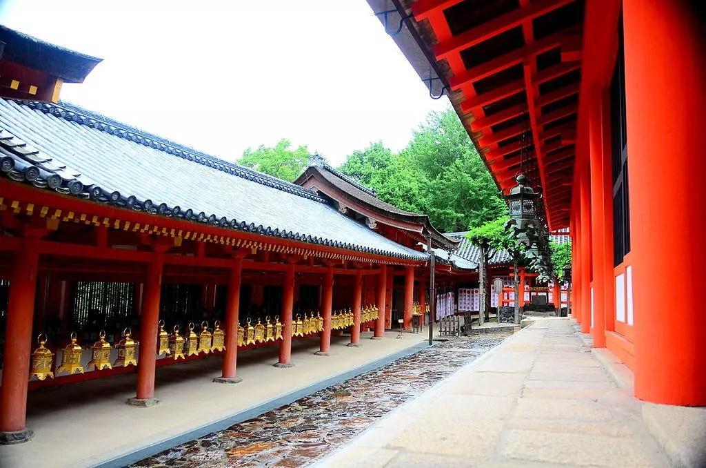 Kasuga Taisha (shrine) in Nara.