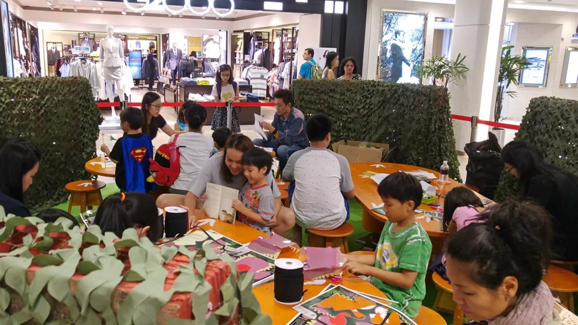 Plaza Singapura Children's workshop.