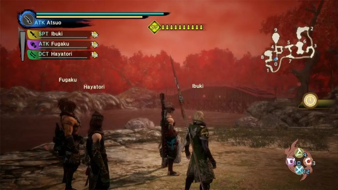 Toukiden Kiwami - The Age of War screenshot.