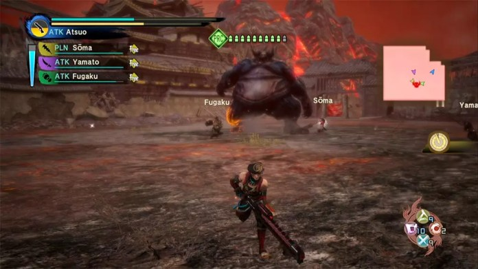 Toukiden Kiwami Age of War Boss Fight.