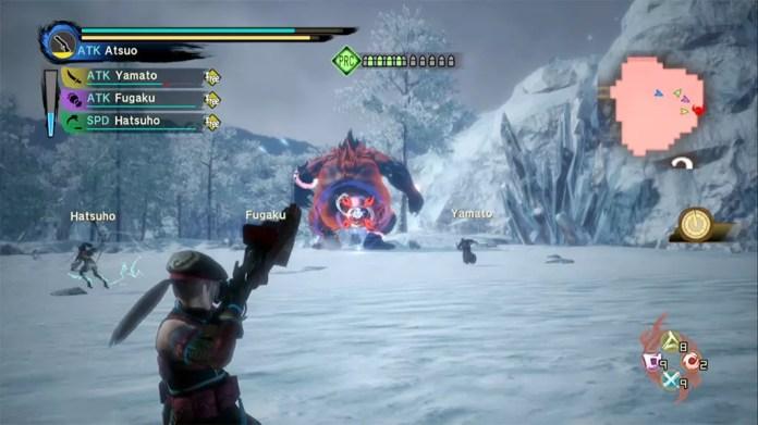 Toukiden Kiwami Age of Chaos Boss Fight.