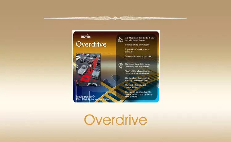 Overdrive (2017 film) Review
