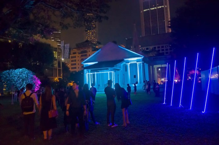 Singapore Night Festival 2017: Secrecy at Armenian Church.