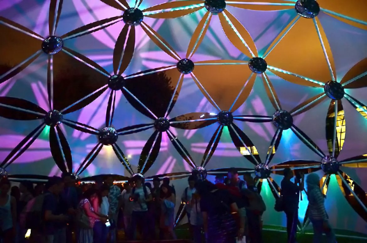 Singapore Night Festival 2017: The Flower of Life and the Infinite Self.