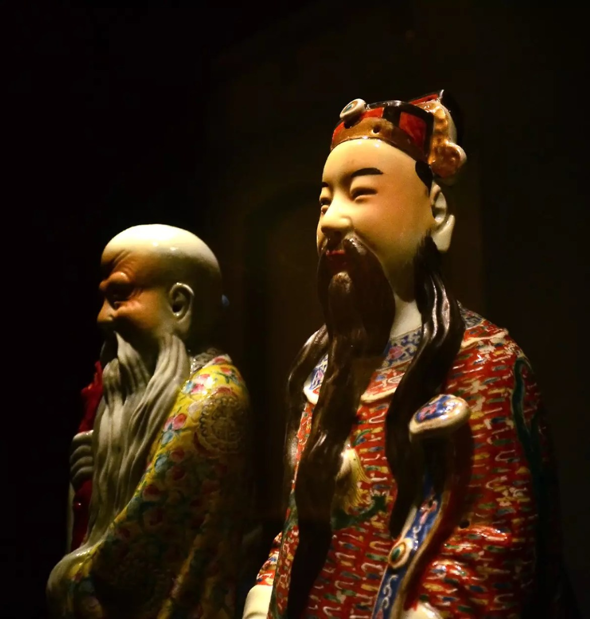 Singapore Peranakan Museum Statues