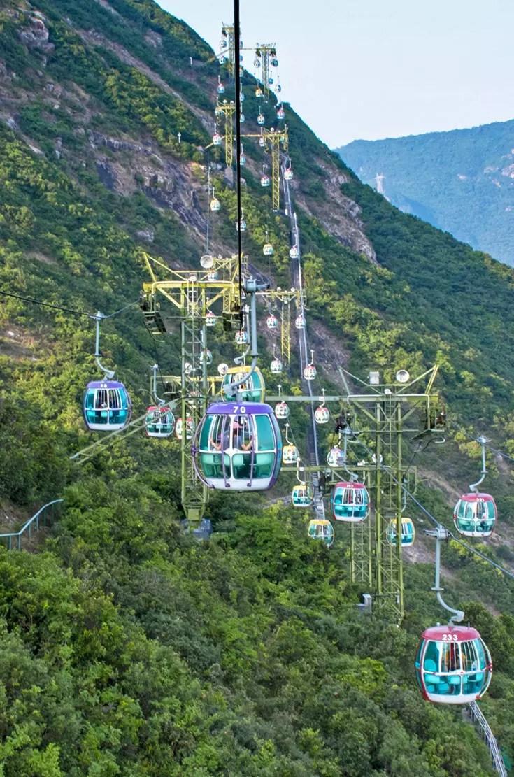 Ocean Park Hong Kong Cable Car Ride.