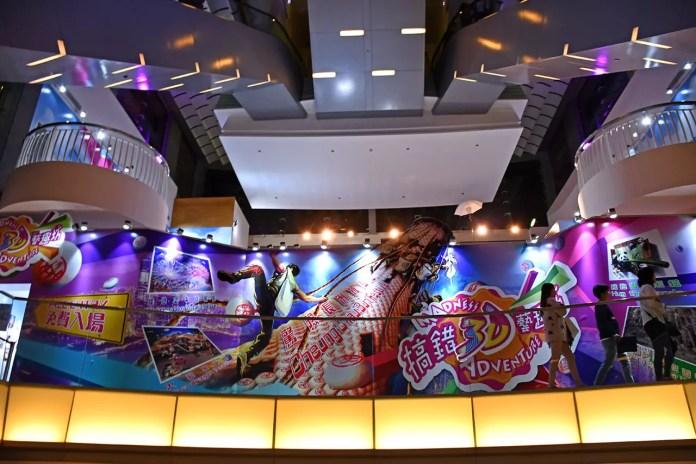 Madness 3D Adventure, Peak Tower Hong Kong