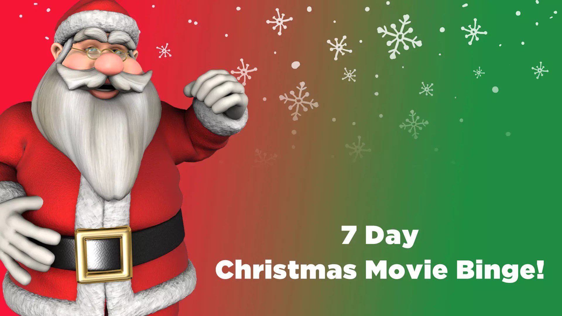 7 Day Netflix Christmas Movie Binge