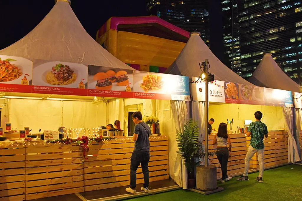 Hipster food in Singapore fairs