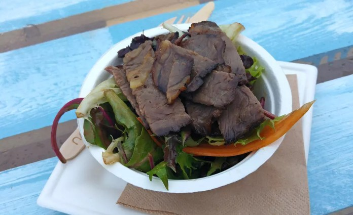 Dry-Aged Roasted Beef Salad by Saint Pierre