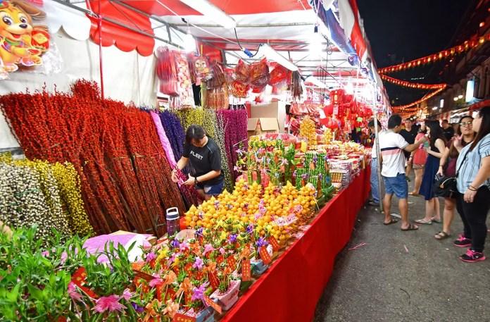 Chinatown Chinese New Year Festive Bazaar 2018