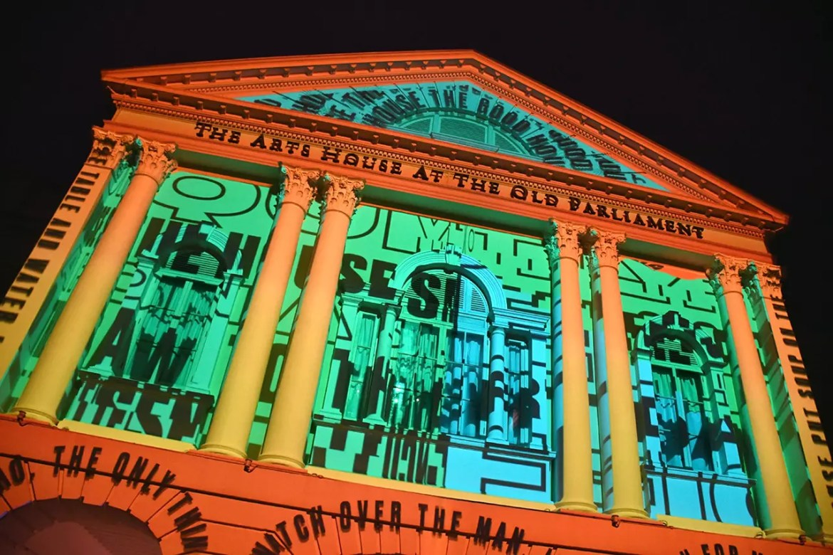 Light to Night Festival 2018 - The Arts House at the Old Parliament