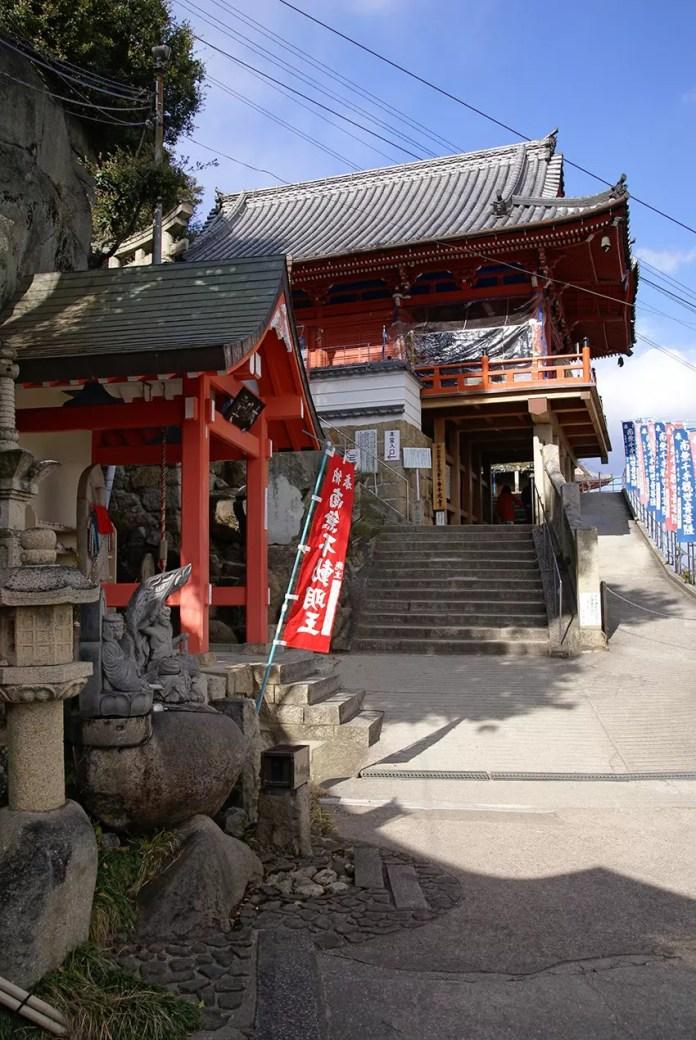 Senkoji Terrace and steps