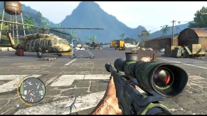 Far Cry 3 Airport Battle.