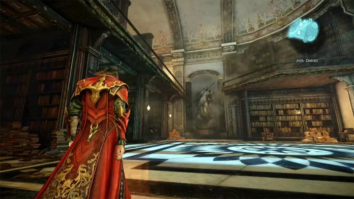 Castlevania: Lords of Shadow 2 Arts District.