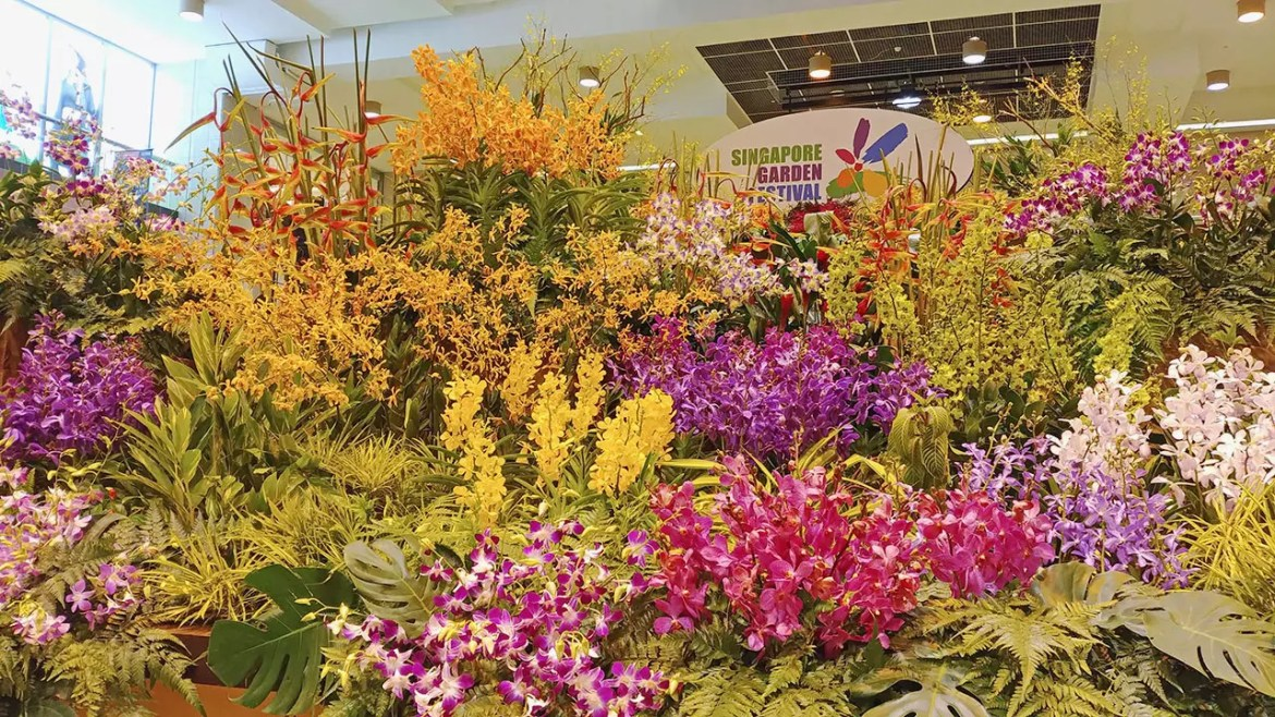 Launch of Singapore Garden Festival 2018 - Guinness World Record floral installation