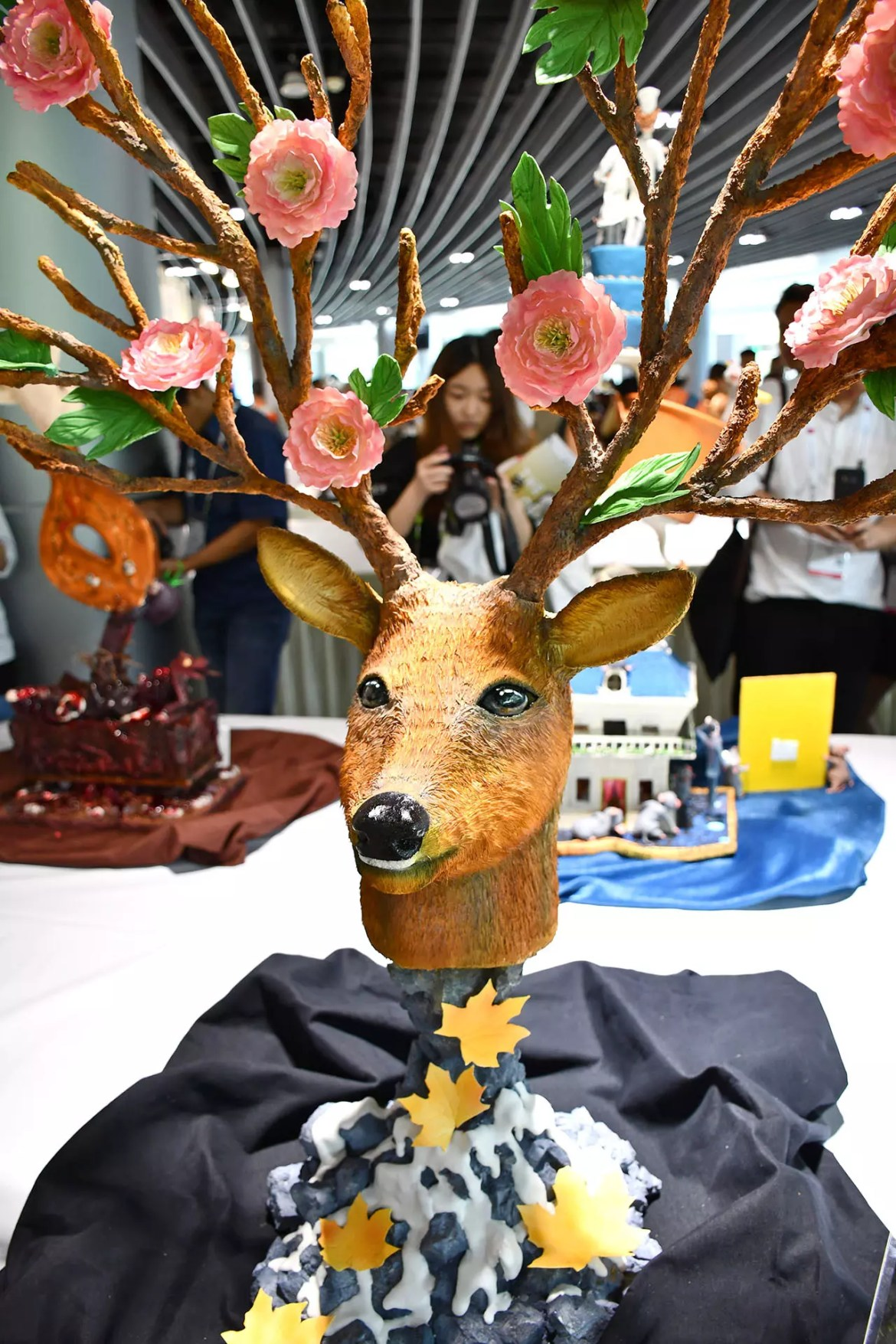 FHA 2018 Pastry Showpieces - Guardian God in Forest - Deer