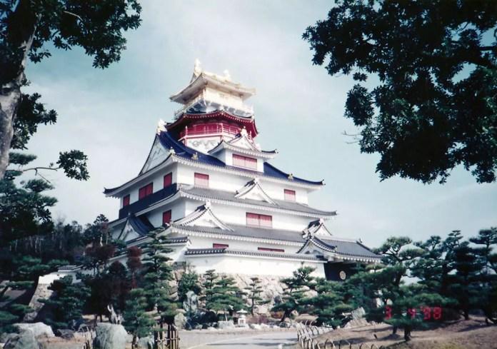 Azuchi Castle Reconstruction at Ise.