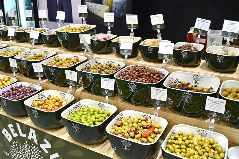 Belazu Olives in Singapore.