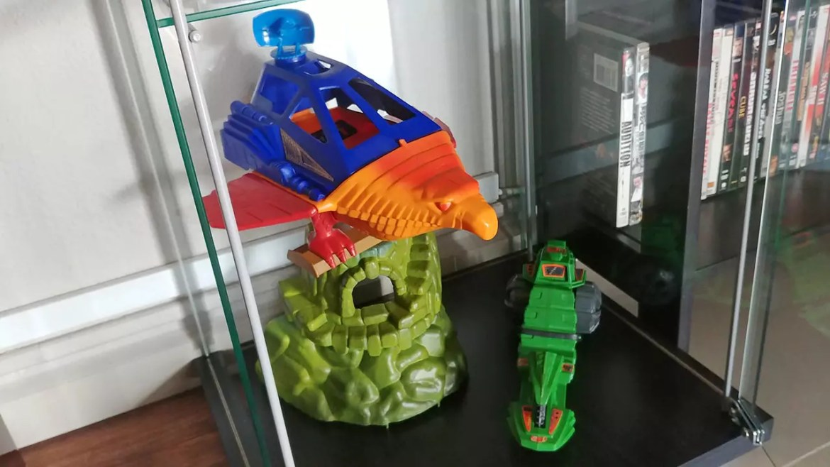 Old Masters of the Universe Toys