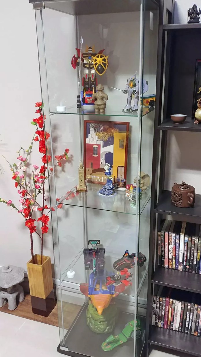 My First Geek Display Cabinet