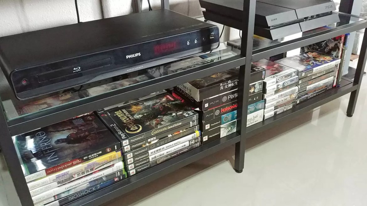 My Retro Video Games Collection