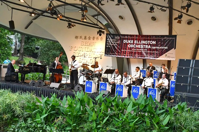 Duke Ellington Orchestra in Singapore.