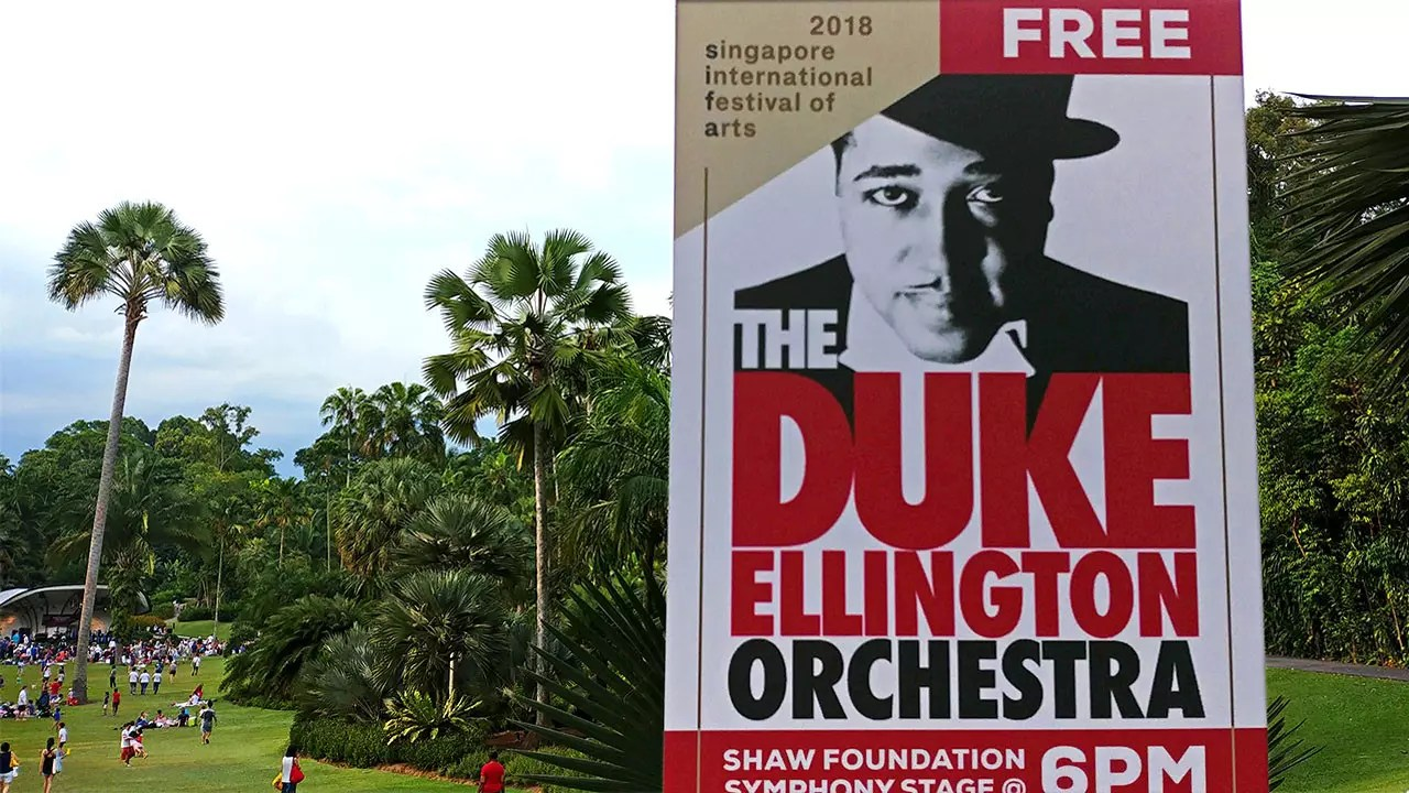 Duke Ellington Orchestra in Singapore