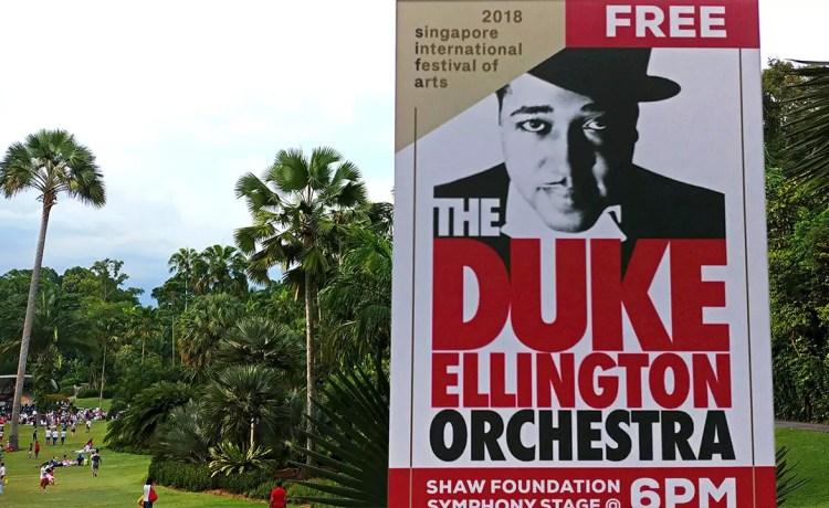 Duke Ellington Orchestra in Singapore