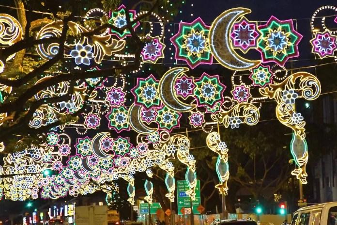Geylang Serai Festive Lights 2018.