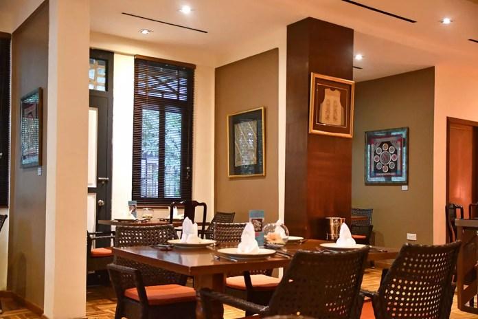 Indocafé - The White House Restaurant Interior.