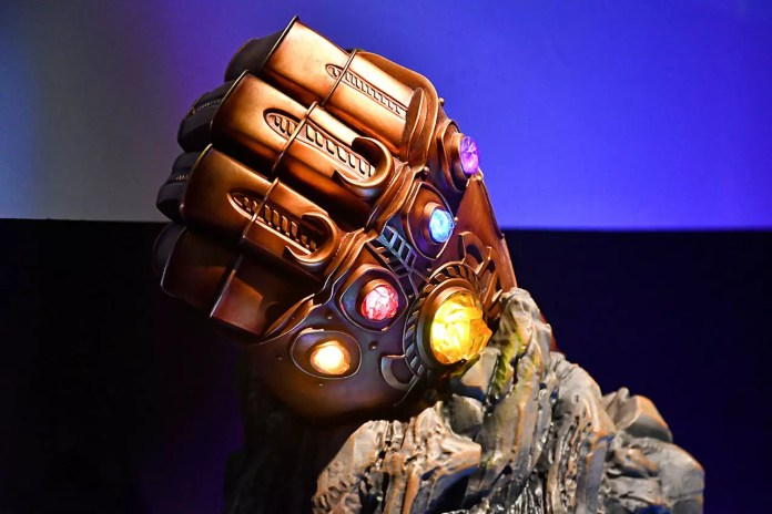 Infinity Gauntlet at Marvel Studios: Ten Years of Heroes Exhibition.