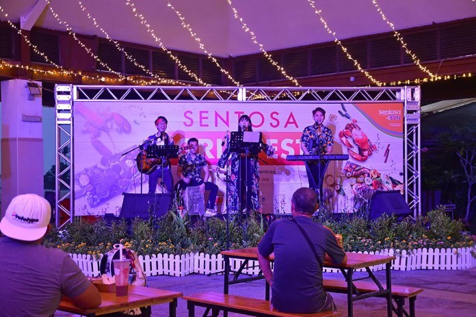 Live Performance by The JumpStart at Sentosa GrillFest 2018.