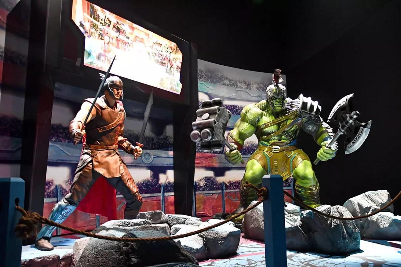 Thor and Hulk Sakaar Fight.