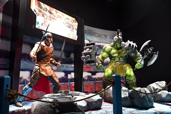 Thor and Hulk Sakaar Fight.