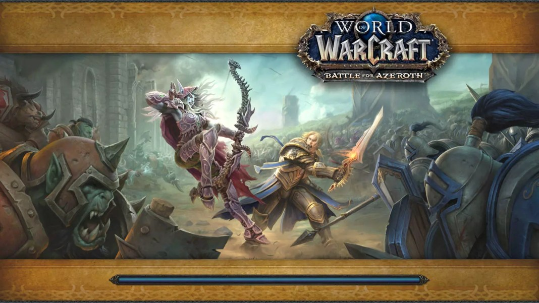 Battle for Azeroth Loading Screen