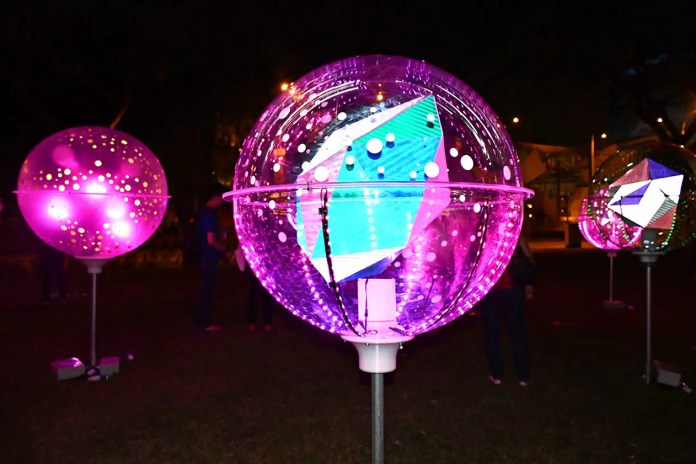 Orbit By LiteWerkz x 3M | Singapore Night Festival 2018
