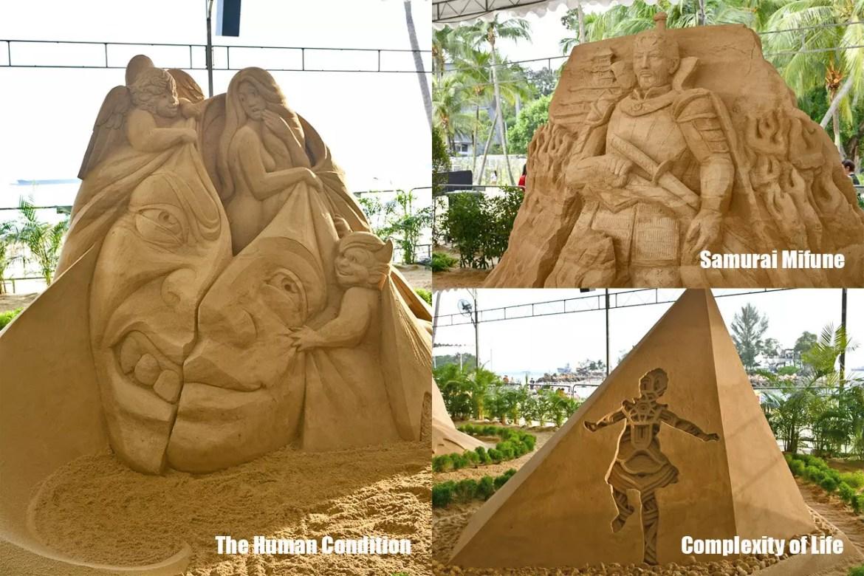 Sentosa International Sand Sculpting Championship 2018