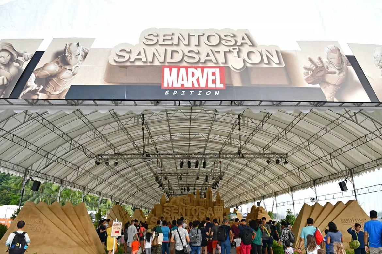 Sentosa Sandsation 2018.