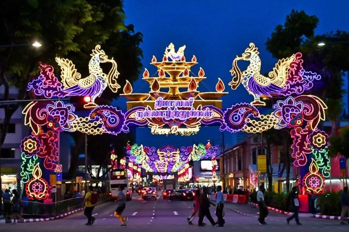 Little India Deepavali Decorations 2018, Singapore