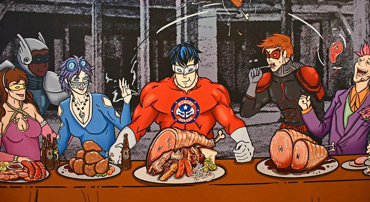 Hungry Heroes | Superhero-themed restaurant in Singapore.