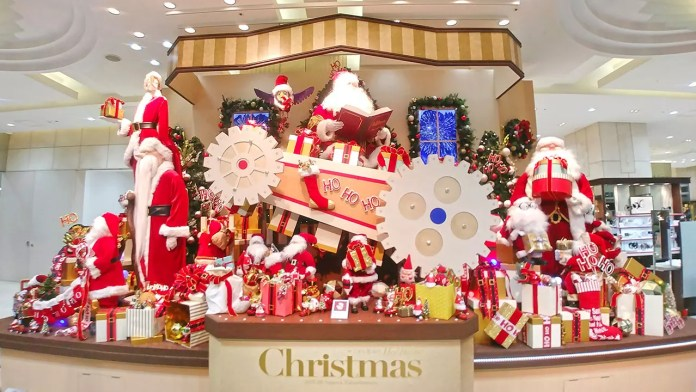 JR Nagoya Takashiyama Christmas Display 2018