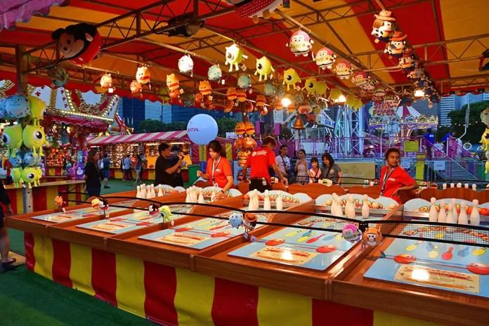 Disney Tsum Tsum carnival games.
